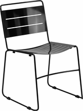 Bariatric Stack Chair - All Metal Frame